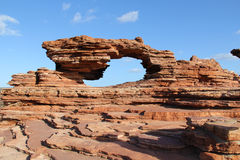 Natury Kalbarri Nadokienny park narodowy Zdjęcia Royalty Free