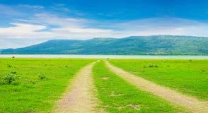 Natury krajobrazowy tło zdjęcie stock