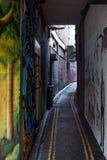 Natury Ludzkiej sztuki Uliczny projekt, Leonard pas ruchu, Bristol Stary miasto Fotografia Royalty Free