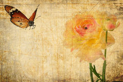 Natury miłości abstrakt styl retro Obrazy Royalty Free