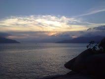 Natury nieba widok w Hong Kong Zdjęcie Stock