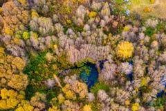 Natury piękno w Lithuania Fotografia Stock
