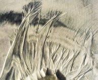 Natury ` s piaska sztuka Obraz Stock
