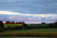 Natury ` s wodny kolor w Październiku Obraz Royalty Free