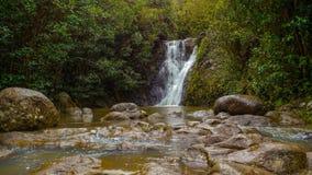 Natury siklawa Hawaii Obrazy Royalty Free