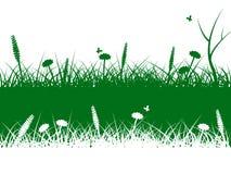 Natury trawa Znaczy gazon Scenicznego I Wiejskiego royalty ilustracja