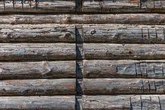 Natutal wooden texture background closeup unpainted Stock Photography