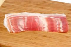 Natuurlijk bacon Stock Afbeeldingen