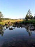 Natuurlijk landschap stock foto