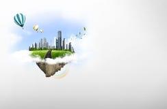 Natuurlijk landschap. ecologisch concept Stock Fotografie