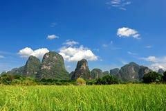 Natuurlijk landschap van China royalty-vrije stock afbeelding