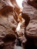Natuurlijk Mirakel - Rode Canion dichtbij Eilat, Israël royalty-vrije stock foto