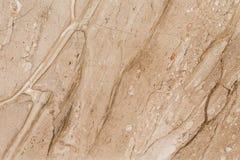 natuurlijk mooi marmer in warme en heldere kleuren Stock Afbeelding