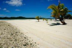 Natuurlijk mooi tropisch strand Royalty-vrije Stock Foto's