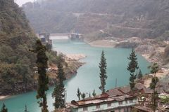 Natuurlijk noordoosten zeven zuster India van schoonheidsgangtok Sikkim Royalty-vrije Stock Afbeelding
