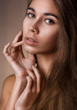 Natuurlijk schoonheidsportret Royalty-vrije Stock Foto's