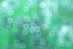 Natuurlijke abstracte groene achtergrond met cirkelbokeh Nummer 01 stock foto's