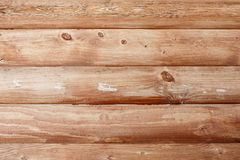 Natuurlijke achtergrondpatroon van een logboekmuur stock foto's