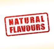 Natuurlijke als buffer opgetreden voor aroma'stekst Royalty-vrije Stock Afbeelding