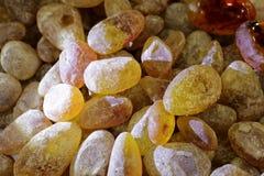 Natuurlijke amber royalty-vrije stock foto's