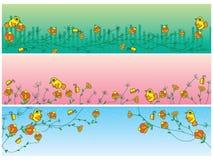 Natuurlijke banner stock illustratie