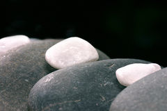 Natuurlijke bebbles Stock Foto