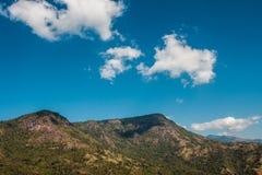 natuurlijke bergachtergrond Royalty-vrije Stock Foto
