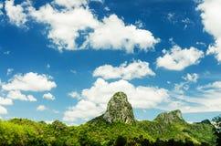 Natuurlijke bergmening Stock Foto's
