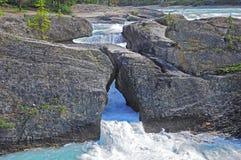 Natuurlijke brug. royalty-vrije stock afbeelding