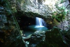 Natuurlijke Brug, Zuidoosten Queensland, Australië royalty-vrije stock fotografie