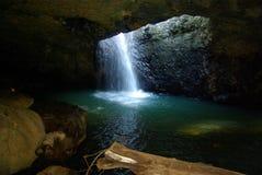 Natuurlijke Brug, Zuidoostenqueensland, Australië stock foto's