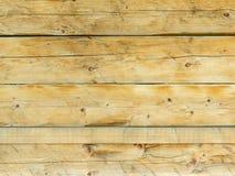 Natuurlijke bruine schuur houten muur Royalty-vrije Stock Foto