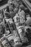 Natuurlijke Chinese geneesmiddelen in Hong Kong China stock foto