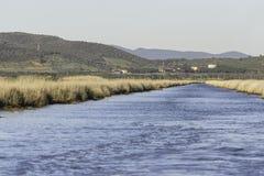 Natuurlijke de reservelandschappen van Diacciabotrona Royalty-vrije Stock Foto