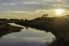 Natuurlijke de reservelandschappen van Diacciabotrona Stock Afbeelding