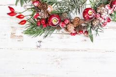 Natuurlijke de winterachtergrond Royalty-vrije Stock Foto