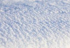 Natuurlijke de winterachtergrond met sneeuw royalty-vrije stock fotografie