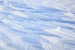 Natuurlijke de winterachtergrond van sneeuw Stock Afbeeldingen