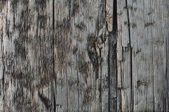 Natuurlijke Doorstane Grey Tan Taupe Wooden Board, Gebarsten Geruïneerde Ruwe Besnoeiingssepia Houten Textuur, Groot Gedetailleer Royalty-vrije Stock Afbeeldingen