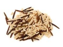 Natuurlijke en wilde rijst Stock Afbeelding