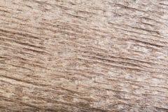 Natuurlijke gekraste donkere oude houten moeras eiken textuur als achtergrond Royalty-vrije Stock Foto's