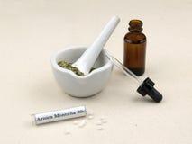 Natuurlijke geneeskunde stock foto