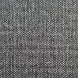 Natuurlijke geweven de jutejute van de grunge donkere grijze zwarte jute, grijs de textuurdecor van de stofferingszak, grungy dec Royalty-vrije Stock Foto's