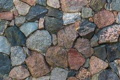 Natuurlijke harde rots of steentextuuroppervlakte als achtergrond Stock Afbeelding
