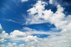 Natuurlijke hemelsamenstelling. stock afbeelding