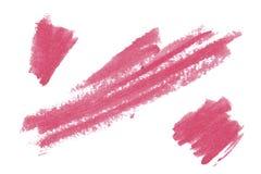 Natuurlijke het ontwerpelementen van de pommadekunst van lippenstift Royalty-vrije Stock Afbeelding