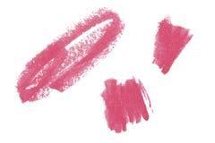 Natuurlijke het ontwerpelementen van de pommadekunst van lippenstift Stock Foto's