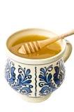 Natuurlijke honing Stock Foto's
