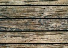 Natuurlijke houten achtergrond Natuurlijke houten textuur met horizontale lijnen Stock Foto's