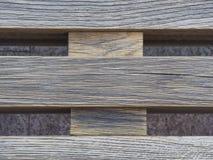Natuurlijke houten gekruiste de raadsachtergrond van de palletplank stock foto